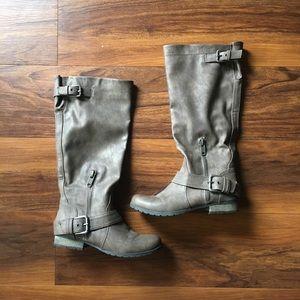 Carlos by Carlos Santana Taupe/Grey Boots